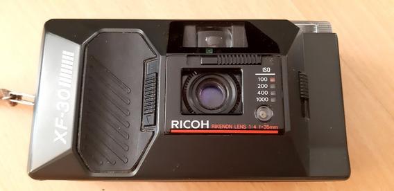 Câmera Analógica Ricoh Xf-30 Com Capa