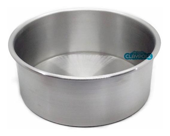 Tortera Redonda Alta Recta De Aluminio Nº20 - Alto 8 Cms
