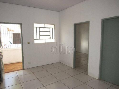 Imagem 1 de 22 de Casa Com 2 Dormitórios Para Alugar, 73 M² Por R$ 950,00/mês - Vila Boyes - Piracicaba/sp - Ca3846