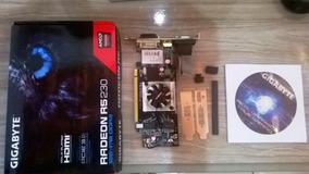 Placa De Video Amd Radeon R5 230 1gb Ddr3 64bits