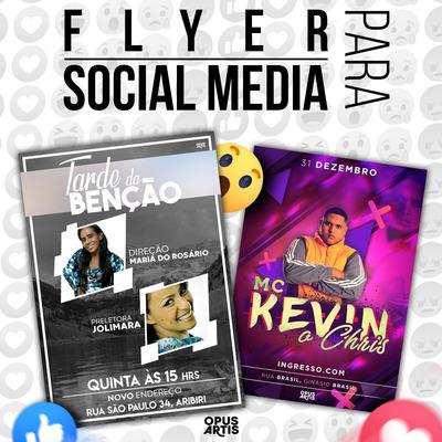 Flyer Para Social Media / Divulgação Digital