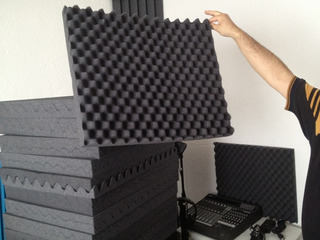 Espuma Acústica Grabacion De 50cm X 50cm X 5cm Bucaramanga