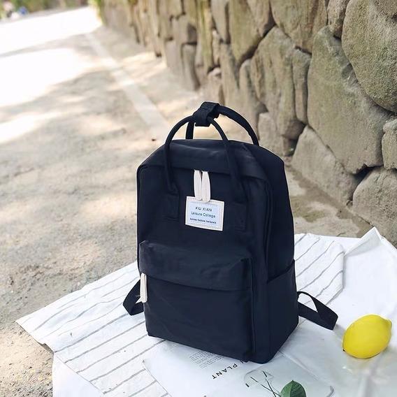 Mochila Backpack Escolar Dama Repelente Al Agua Est. Coreano