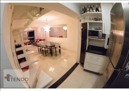 Imagem 1 de 20 de Imob01 - Cobertura 150 M² - Venda - 3 Dormitórios - 1 Suíte - Fundação - São Caetano Do Sul/sp - Co0004