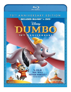 Blu-ray + Dvd Dumbo (1941) 70th Anniversary Edition