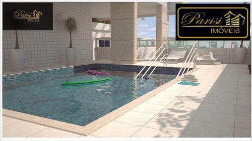 Imagem 1 de 6 de Apartamento Com 2 Dorms, Boqueirão, Praia Grande - R$ 320.000,00, 74,36m² - Codigo: 229 - V229