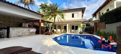 Imagem 1 de 30 de Casa Com 5 Dormitórios À Venda, 325 M² Por R$ 3.800.000,00 - Riviera - Módulo 19 - Bertioga/sp - Ca1036