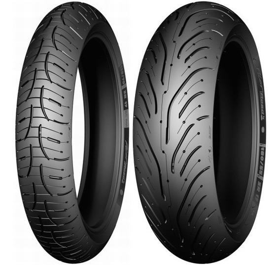 Combo Pneu Michelin Pilot Road 4 120/70-17 + 190/50-17