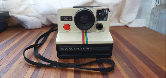 Máquina Fotográfica Polaroid Land Camera