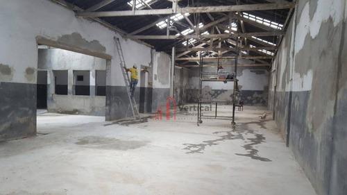 Galpão À Venda, 1017 M² Por R$ 4.200.000,00 - Mooca (zona Leste) - São Paulo/sp - Ga0412