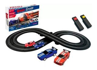 Speed Chase Pista De Autos A Bateria