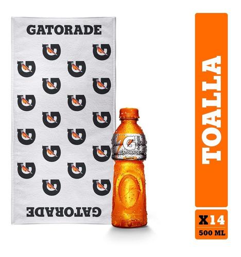 Gatorade X14 500ml + Toalla Gratis - mL a $6