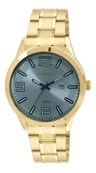 Relógio Condor Dourado Masculino Co2115xz/4a