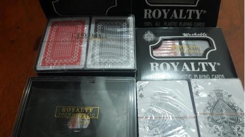 Cartas Royality Remis Baraja Plásticas