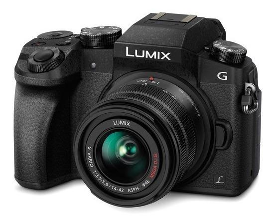 *nova* Panasonic Lumix Dmc-g7 + Duas Lentes 14-42mm + 25mm F1.7