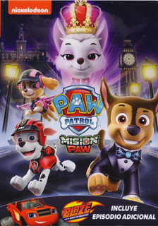 Paw Patrol Mision Paw Coleccion 6 Episodios Serie Dvd