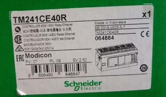 Clp Telemecanique Modicon Tm241ce40r - Tm241