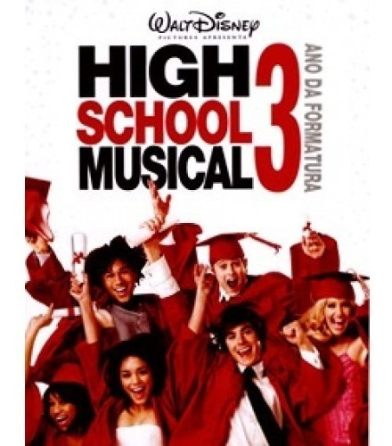 Dvd High School Musical 3 Ano De Formatura Lacrado