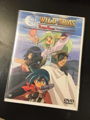 Imagen 1 de 4 de Dvd Wild Arms Twilight Venom Vol.1 Japan Gastovic Anime