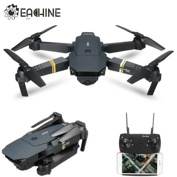 Drone Eachine E58 Câmera Wifi Pocket Dobrável Super Promoção