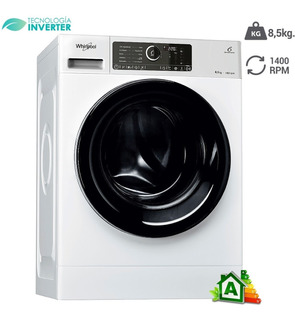 Lavarropas Automatico Inverter Whirlpool Wlcf85b 8,5kg Cla A
