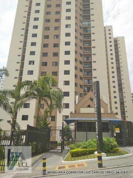 Apartamento Com 2 Dormitórios À Venda, 72 M² Por R$ 294.900,00 - Parque Taboão - Taboão Da Serra/sp - Ap0078