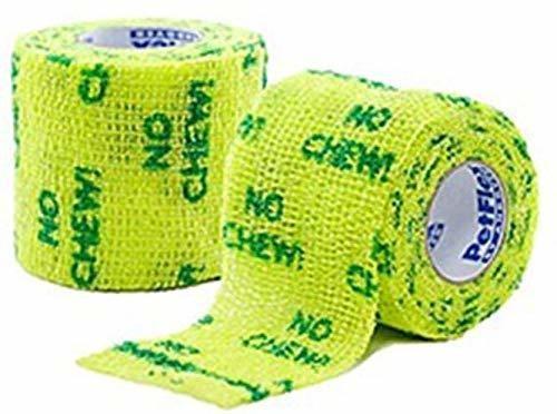 Petflex No Chew Bandage, Verde, 5 Cm Nuevo