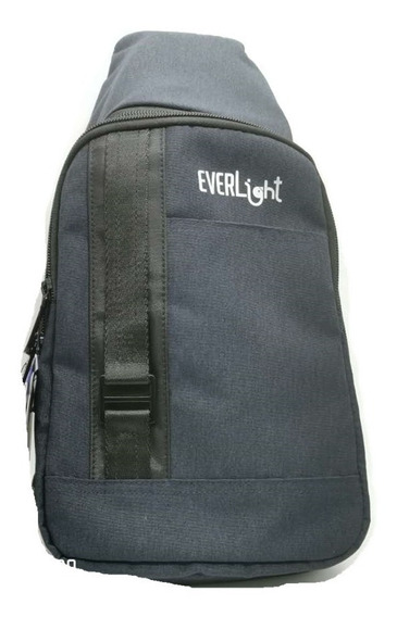 Mochila Porta Tablet Everlight Shoulder 4.5l 10.1 Gris/azul