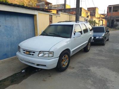 Blazer Executive, Automática, Branca, Gasolina/gnv 1997