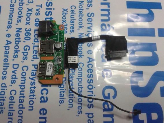 Placa Lateral Com 2 Usb+rj11 Notebook Iatautec 7410