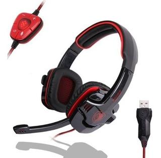Auriculares Zps Sades Sa-901 Stereo 7.1 Surround Pro
