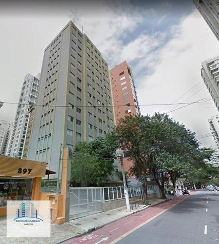 Imagem 1 de 17 de Apartamento Para Alugar, 40 M² Por R$ 1.600,00/mês - Moema - São Paulo/sp - Ap3921