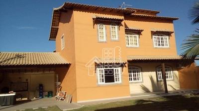 Casa Com 4 Dormitórios À Venda, 350 M² Por R$ 600.000 - Monte Alto - Arraial Do Cabo/rj - Ca0887