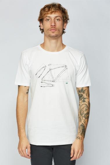 Camisa Sense Casual Wear Projeto Quadro Masculino Branco