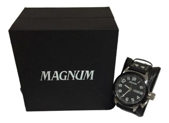 Relógio Masculino Magnum 32765t Semi Novo Em Ótimo Estado