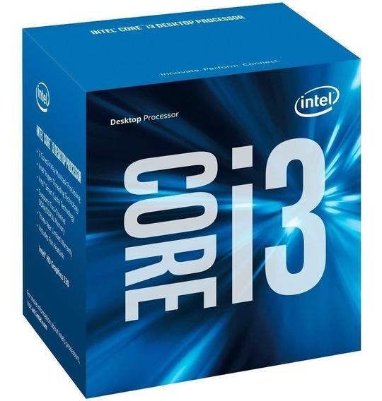 Processador Intel Core I3 6100 Skylake 3.7ghz Socket Lga 1151 6 Geração I3-6100 Com Cooler