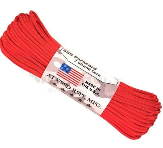 Paracord 550 7 Filamentos Metro 250kg Fabricado Nos Eua 10mt