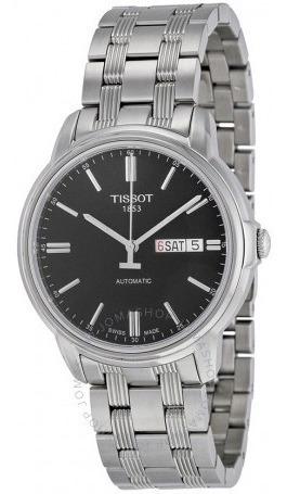 Relógio Tissot Masculino Automático Iii Preto/prata Original