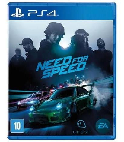 Need For Speed Ps4 Mídia Digital Secundária