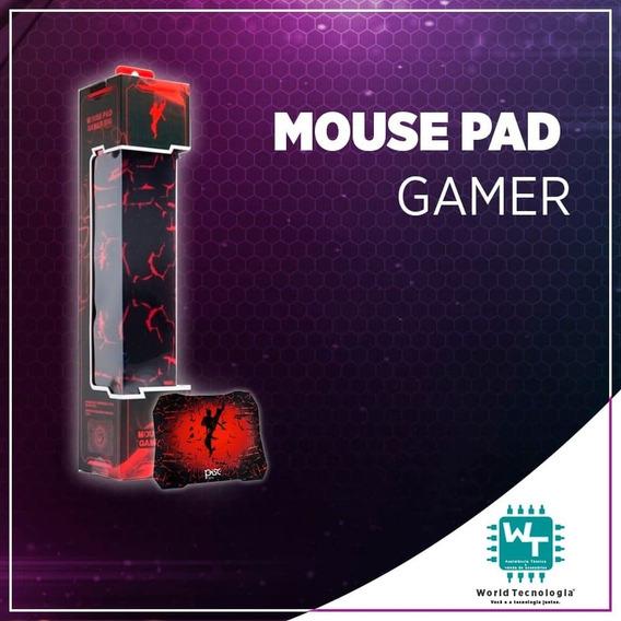 Mouse Pad Gamer Anti-derrapante 28x24 Cm Pisc 1884