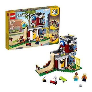 Lego Creator 3in1 Modular Skate House 31081 Building Kit (42