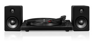 Victrola Tocadiscos Bluetooth Y Parlantes Modern Design Amv