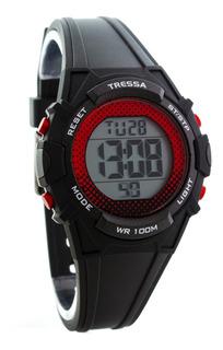 Reloj Tressa Digital Sumergible 100m Garantia Oficial