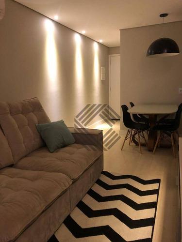 Apartamento Com 2 Dormitórios À Venda, 52 M² Por R$ 275.000,00 - Wanel Ville - Sorocaba/sp - Ap8983
