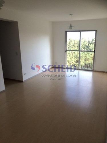 Lindo Apartamento Na Avenida Interlagos - Cond. Marajoara Sol - Mr74838