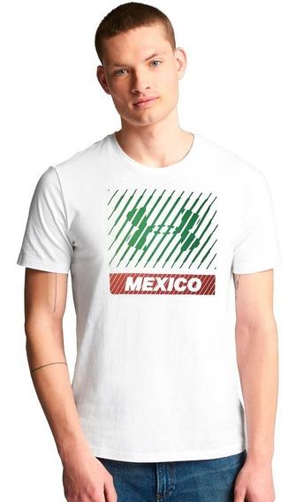 Playera Atletica Mexico Logo Hombre Under Armour Ua2862