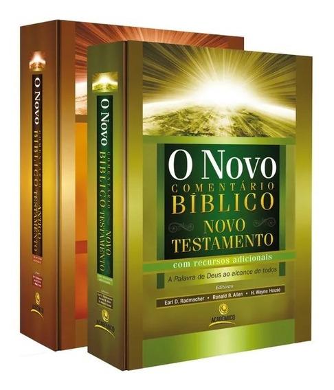 Livro O Novo Comentário Bíblico - Antigo E Novo Testamento