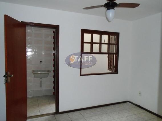 Casa Com 01 Dormitório Para Aluguel Fixo, 40 M² - Bairro Jardim Caiçara - Cabo Frio/rj - Ca0549