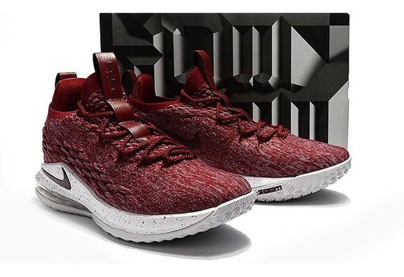 Zapatos Botas Basket Nike Lebron 15 Low Team Red