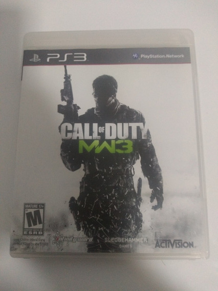 Jogo Call Of Duty Mw3 Playstation 3 Ps3 Original Completo